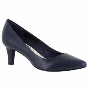 Easy Street Pointe Navy Blue Pumps Sizes 5.5 7.5 9